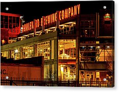 Boulevard Beer Sign Acrylic Print