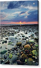 Bound Brook Sunset II Acrylic Print
