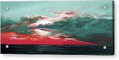 Bound Of Glory - Panoramic Sunset  Acrylic Print