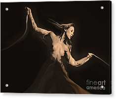Bound Within Acrylic Print by Tbone Oliver