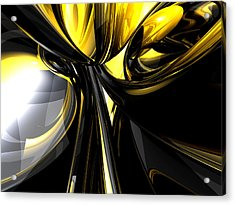 Bounded By Light Abstract Acrylic Print by Alexander Butler