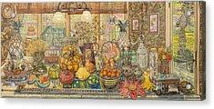 Bountiful Harvest Acrylic Print by Bonnie Siracusa