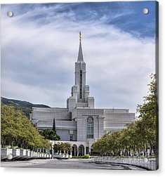 Bountiful Temple In Summer Acrylic Print