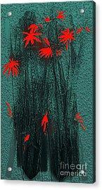 Bouquet 2 Acrylic Print by Mimo Krouzian