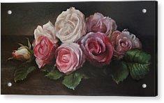Bouquet De Table Acrylic Print by Kira Weber