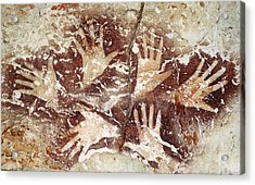 Bouquet Of Hands - Ilas Kenceng Acrylic Print