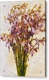 Bouquet Of Hostas Acrylic Print