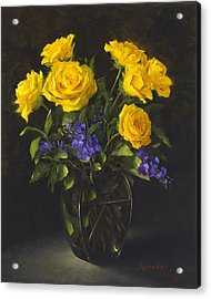 Bouquet Of Sunshine Acrylic Print