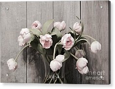 Bouquet Of Tulips Acrylic Print by Jeannie Rhode