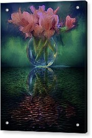 Bouquet Reflected Acrylic Print