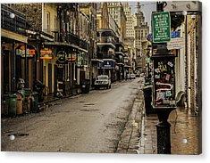 Bourbon Street By Day Acrylic Print