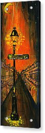 Bourbon Street Lamp Post Acrylic Print