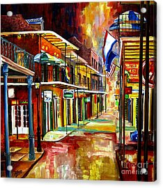 Bourbon Street Lights Acrylic Print