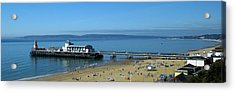 Bournemouth Pier Dorset - May 2010 Acrylic Print