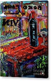 Boutique De Vins Francais 1 Acrylic Print