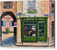 Boutique Du Cheval Acrylic Print