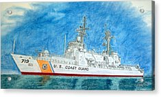 Boutwell-u.s.coast Guard 719 Acrylic Print