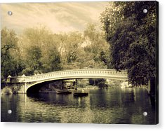 Bow Bridge Dreaming Acrylic Print by Jessica Jenney