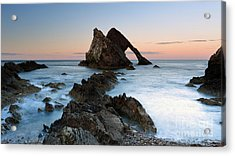 Bow Fiddle Rock At Sunset Acrylic Print