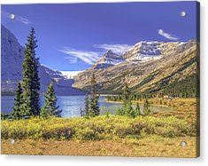 Acrylic Print featuring the photograph Bow Lake 2005 01 by Jim Dollar
