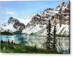 Bow Lake Alberta No.2 Acrylic Print