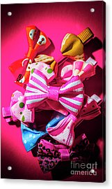 Bow Tie Fashion Show Acrylic Print by Jorgo Photography - Wall Art Gallery