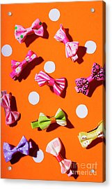 Acrylic Print featuring the photograph Bow Tie Party by Jorgo Photography - Wall Art Gallery