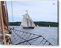Bowditch Under Full Sail Acrylic Print