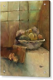 Bowl Of Fruit Acrylic Print by M Allison