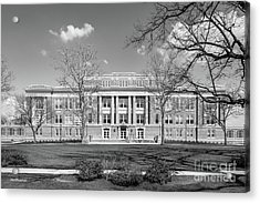 Bowling Green State University Hall Acrylic Print by University Icons