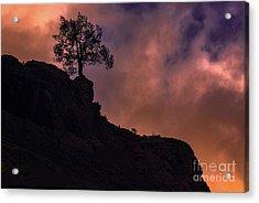 Box Canyon Sunset Acrylic Print
