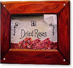 Box Of Roses Acrylic Print