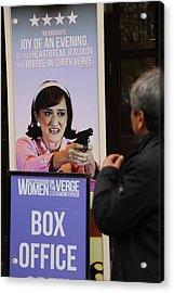 Box Office Acrylic Print