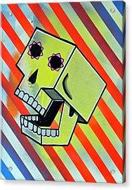 Box Skull Acrylic Print