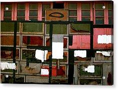 Boxed Scramble Acrylic Print by Jez C Self
