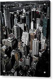 Boxes Of Manhattan Acrylic Print
