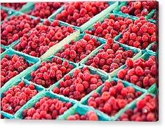 Boxes Of Raspberries Acrylic Print by Todd Klassy