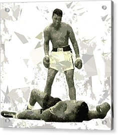 Acrylic Print featuring the painting Boxing 115 by Movie Poster Prints