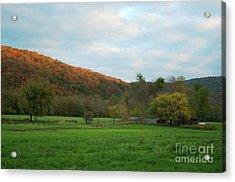 Boxley Valley Arkansas Acrylic Print