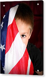 Boy And His Country Acrylic Print