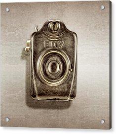 Boy Camera Front Acrylic Print by YoPedro