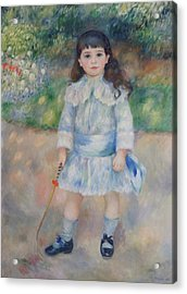 Boy With A Whip Acrylic Print by Pierre Auguste Renoir