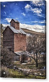 Acrylic Print featuring the photograph Boyd Flour Mill by Cat Connor