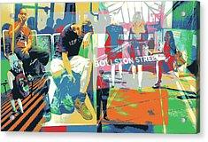 Boylston Acrylic Print by Shay Culligan