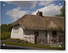 Boyne Valley Cottage Acrylic Print by Philippe Boite