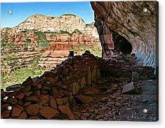 Boynton Canyon 05-1019 Acrylic Print by Scott McAllister