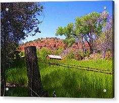 Boynton Canyon Arizona Acrylic Print by Jen White