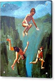 Boys Of Summer Acrylic Print by Geoff Greene