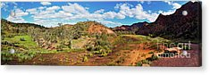 Acrylic Print featuring the photograph Bracchina Gorge Flinders Ranges South Australia by Bill Robinson