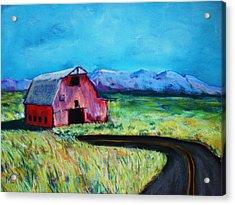 Bradley's Barn Acrylic Print
